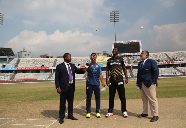 Rajshahi Kings Won the Toss & Elected to Bowl Match 19 th 18-11-2017