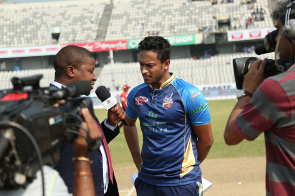 DHAKA DYNAMITES Own the toss AND ELECTED to BAT