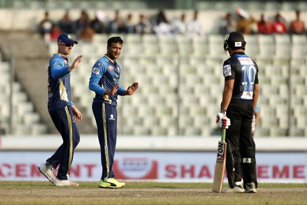 Rangpur Riders vs Dhaka Dynamites at Dec 6, 2017