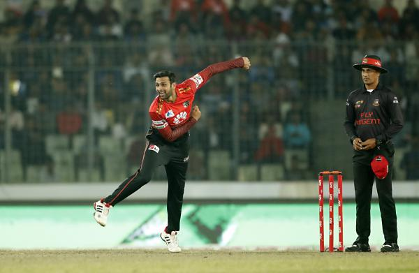 Comilla Victorians vs Dhaka Dynamites, Qualifier 1 at Dec 8, 2017